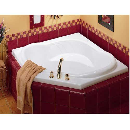"""Rona Maxx Corner Tub $499.00 54X54X23 1/4"""""""