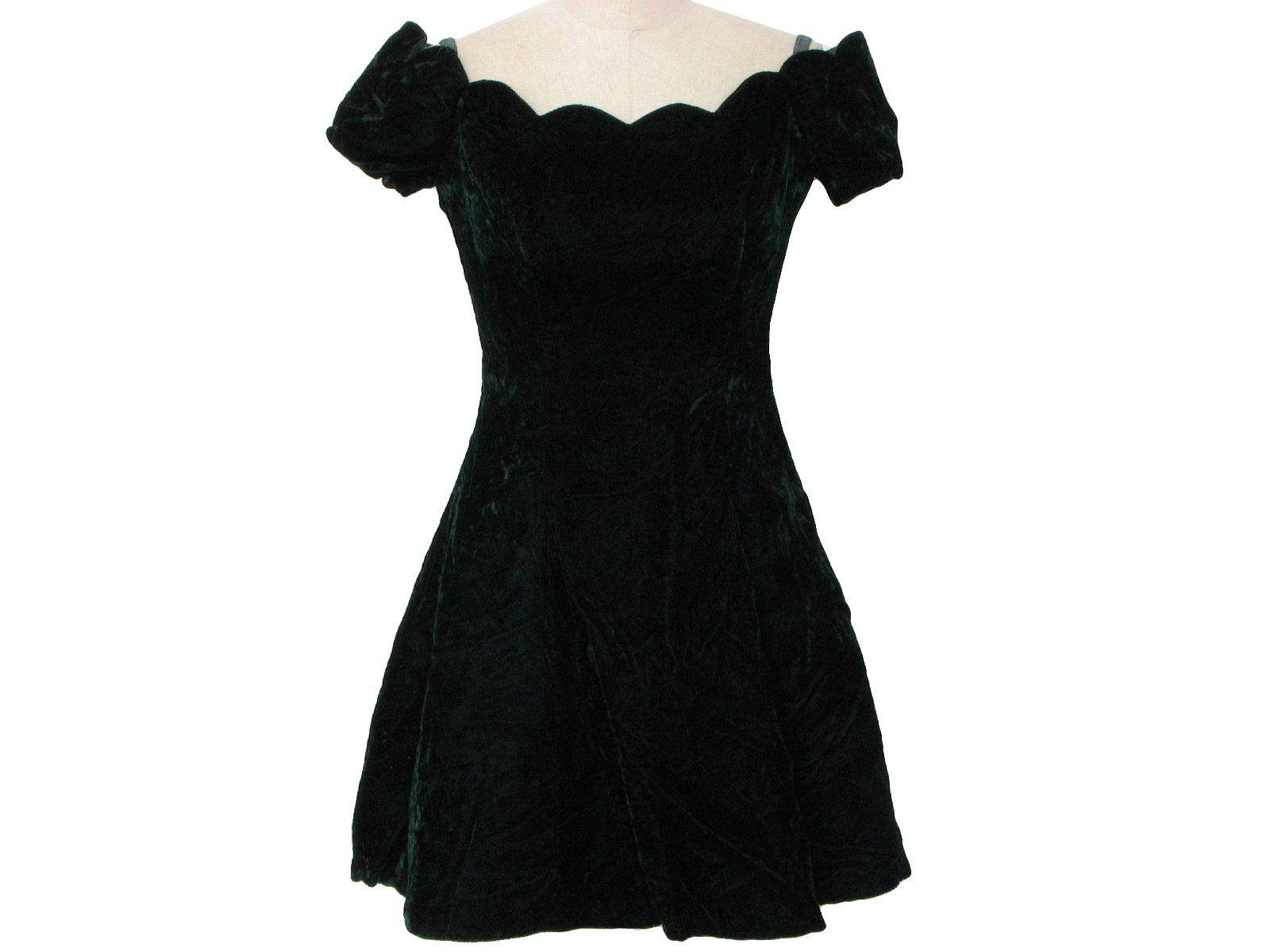 1970\'s Roberta Crushed Velvet Cocktail Mini Dress   Crushed velvet ...