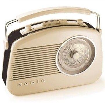 Radio Marfil Retro Años 50 Addex Design http://www.tutunca.es/radio ...