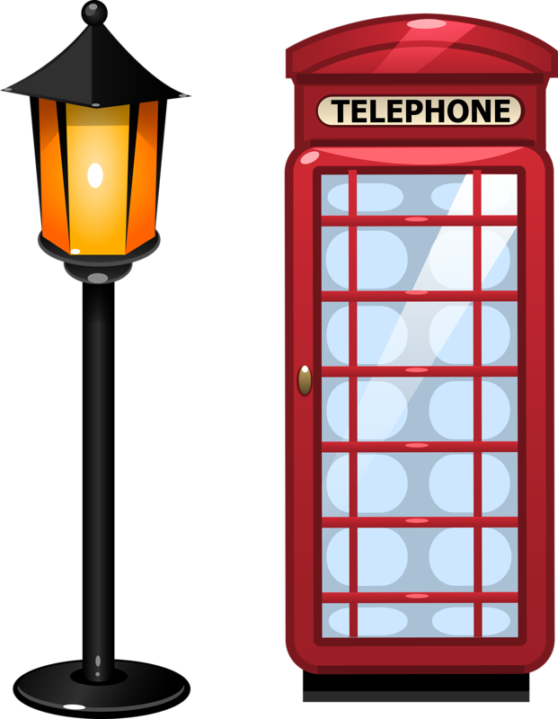 STREET LAMP AND TELEPHONE | Clipart | Pinterest | England, Street ...