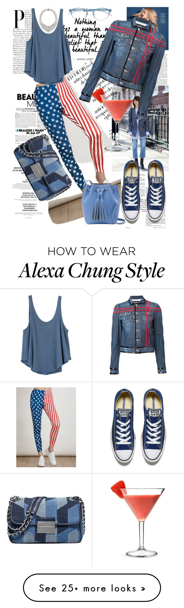 """Без названия #1247"" by adigeeva on Polyvore featuring Arco, RVCA, Converse, Mykita and MICHAEL Michael Kors"