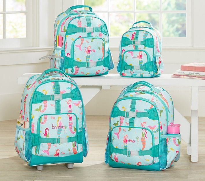 Pottery Barn Kids Mermaid Backpack Mochilas Para Ni 241 Os