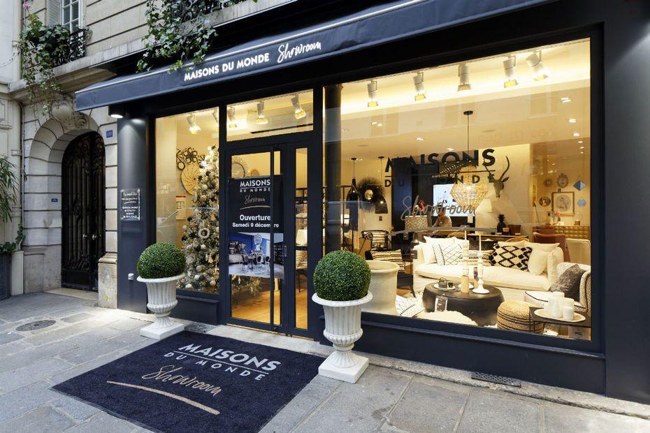 Maisons du Monde ouvre un showroom en plein Paris Graphisme