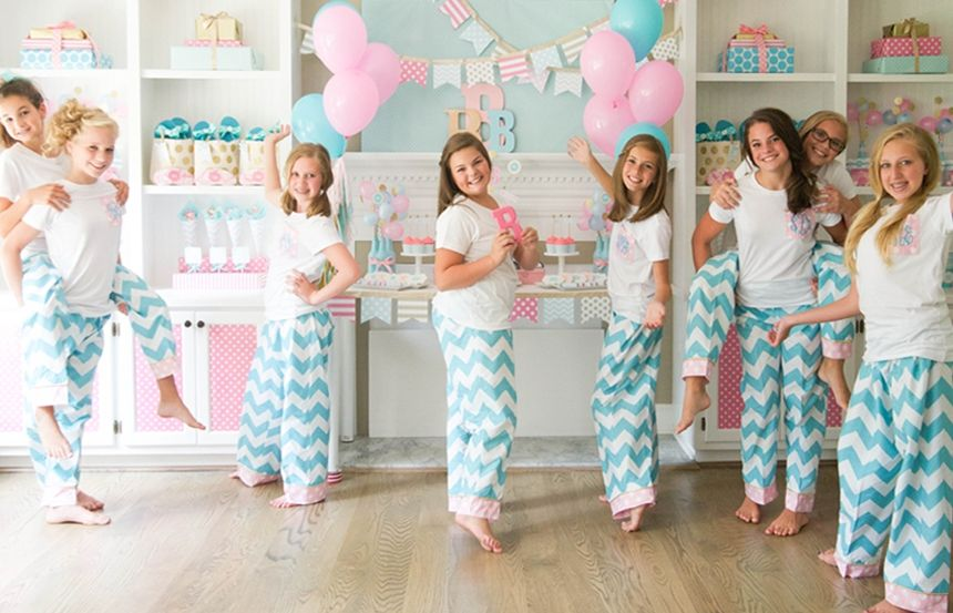 Girls Slumber Party Inspiration In 2019  Slumber Party -9853