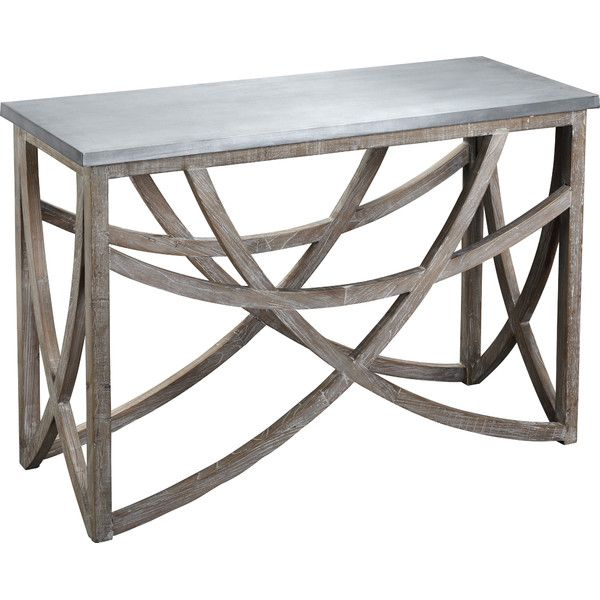 Aimee Reclaimed Wood Console Table