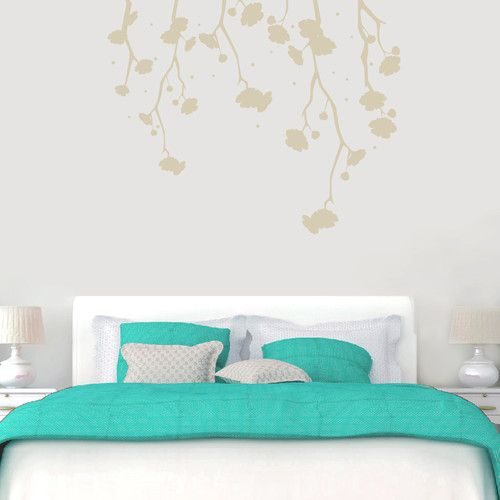 Found it at Wayfair - Hanging Flowers Wall Decal