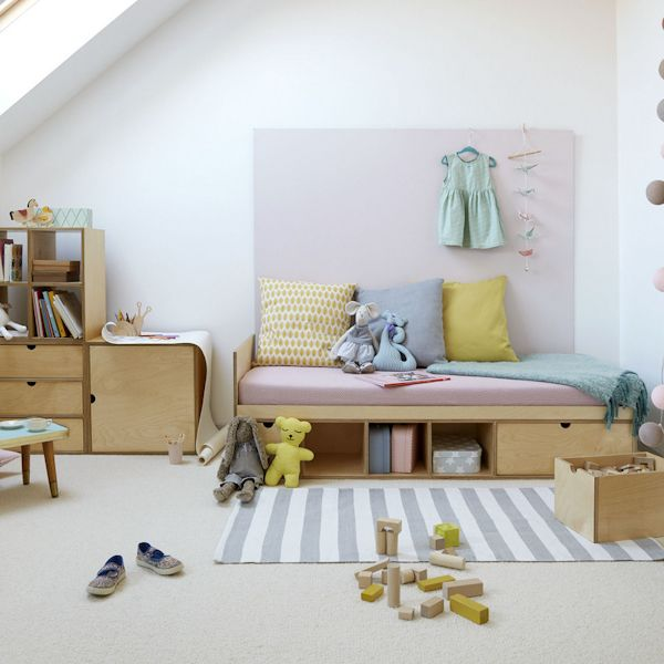 Toddler Bed With Storage Underneath