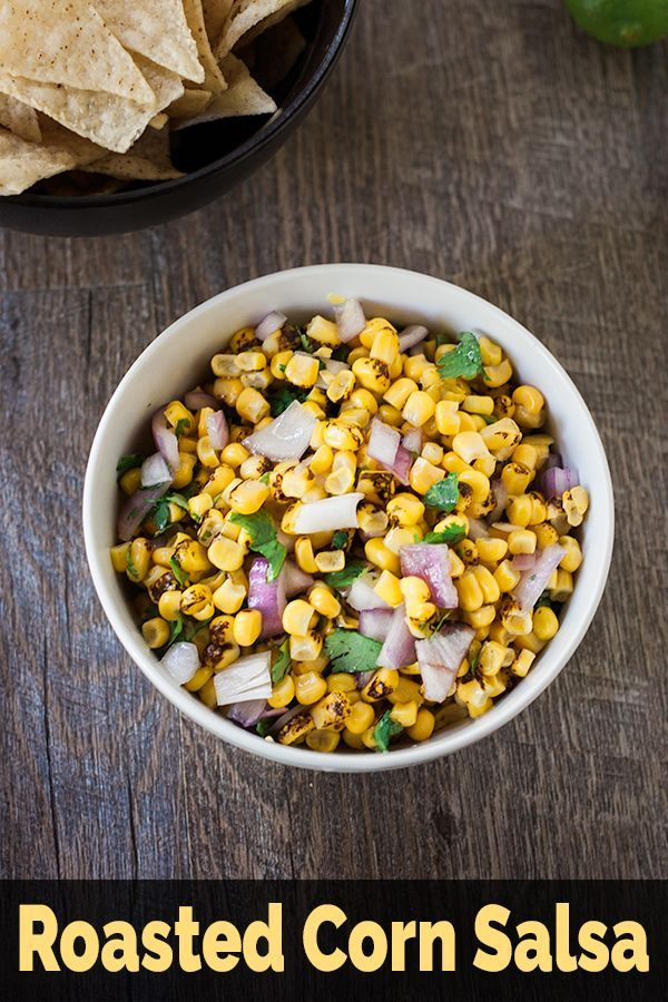 Roasted Corn Salsa From Frozen