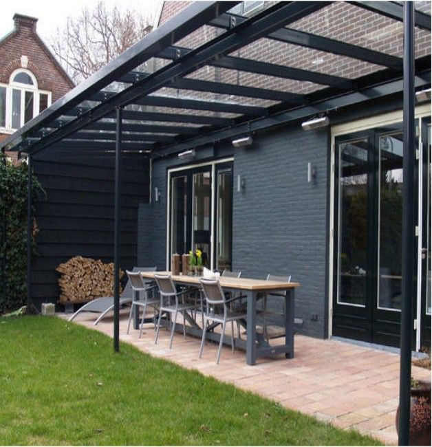 Glass Roof Pergola Design #Glass_Roof_Pergola #GlassRoofGazebos  #GlassRoofCanopy #Glass_Roof #GlassRoofIdeas - Glass Roof Pergolas In 2018 In And Out Pinterest Glass Roof