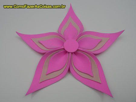 Artesanato flor de eva 15