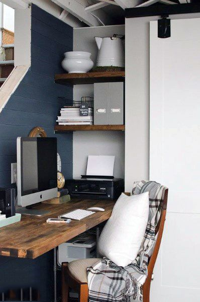 75 small home office ideas for men masculine interior designs corner apartments and interiors