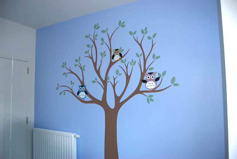Simpele Vrolijke Kinderkamer : Zelf simpele muurschildering maken kinderkamer google zoeken