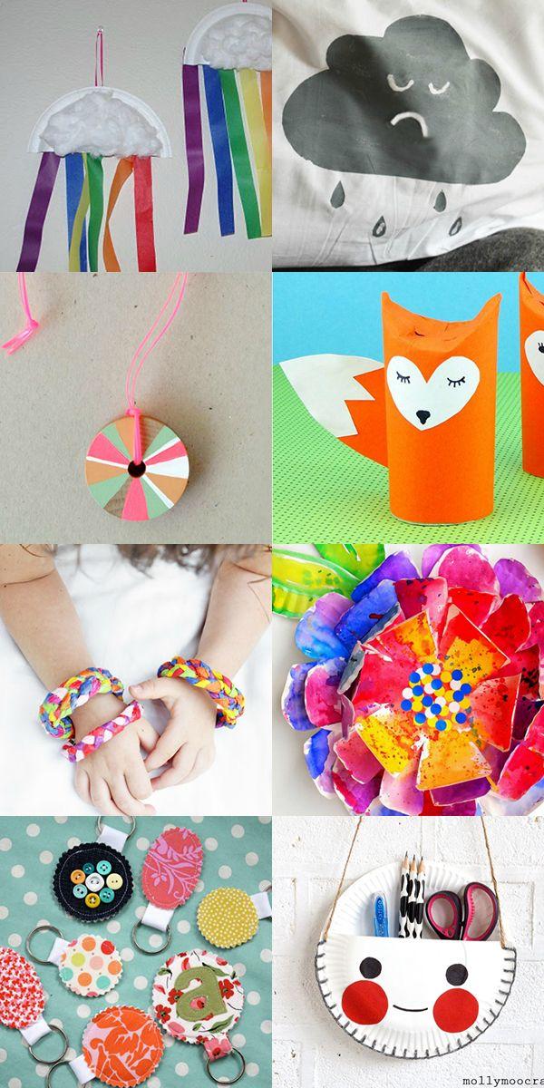 Summer Holiday Crafts For Kids On Rainy Days Craft Ideas Crafts
