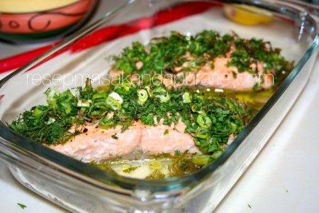 Resep Ikan Salmon Panggang Oven Resep Masakan Dapur Arie Resep Resep Ikan Resep Masakan Makanan