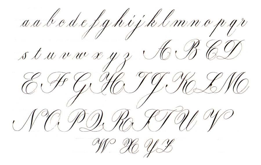 how to write neatly in cursive