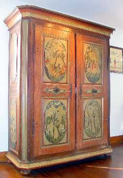 Musee Alsacien Haguenau Painted Furniture Alsace Painted