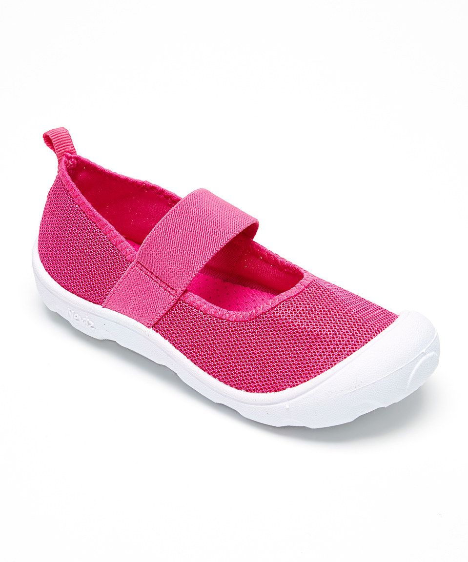 d61480274dff Newtz Pink   White Mary Jane Water Shoe by Newtz  zulily ...