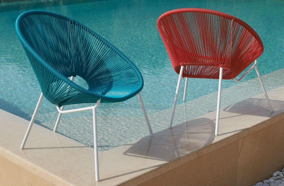 Le fauteuil Acapulco : une icône vitaminée venue du Mexique ...