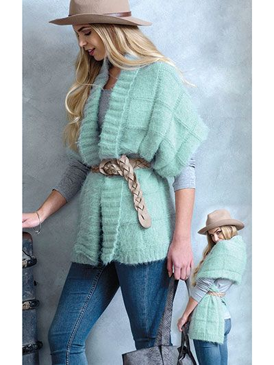 Wrap Ponchos Knit Pattern from Annie's Craft Store. Order ...