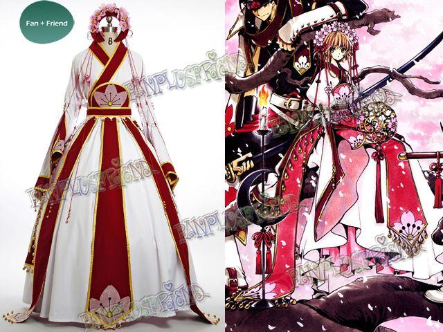 Reservoir Chronicle Sakura Kimono COS Clothing Cosplay Costume Tsubasa