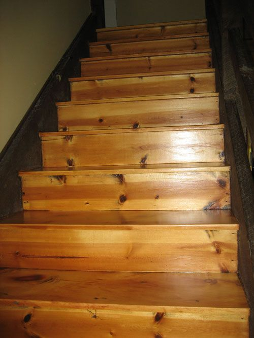 Best Pine Stair Treads And Risers Google Search Pine Stair 400 x 300