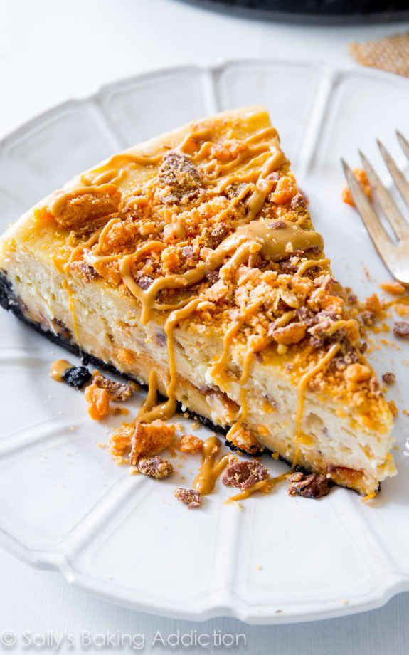 Peanut Butter Butterfinger Cheesecake and other recipes