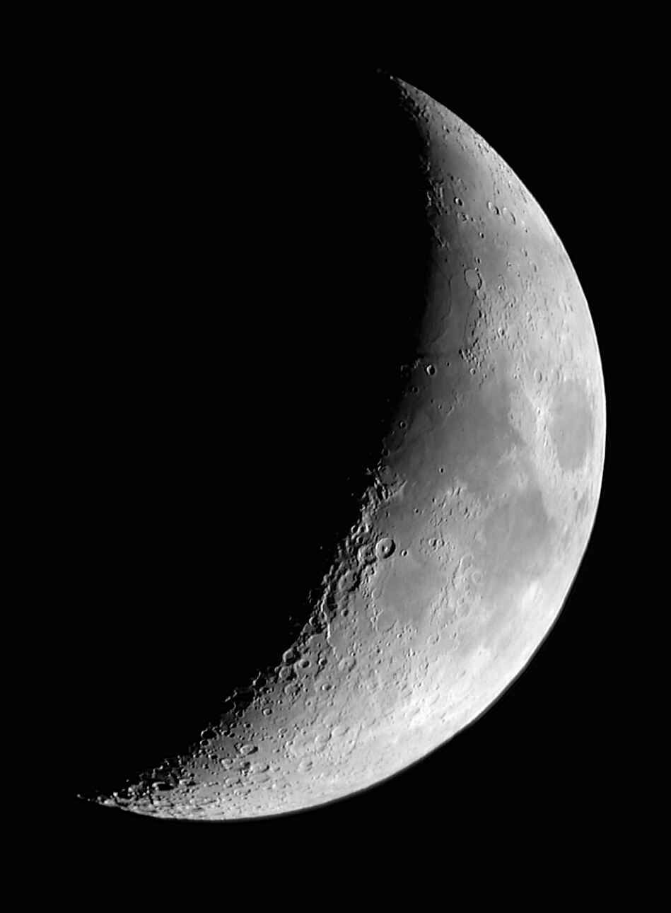 Luna en Cuarto Creciente. Cualquier punto entre la fase de Luna ...