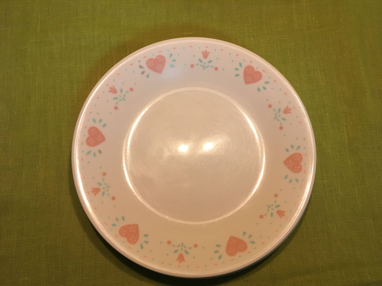 Corelle Forever Yours Dessert Plate Vintage By Vintagevarietybyvl On Etsy Corelle Corelle Dinnerware Dessert Plate