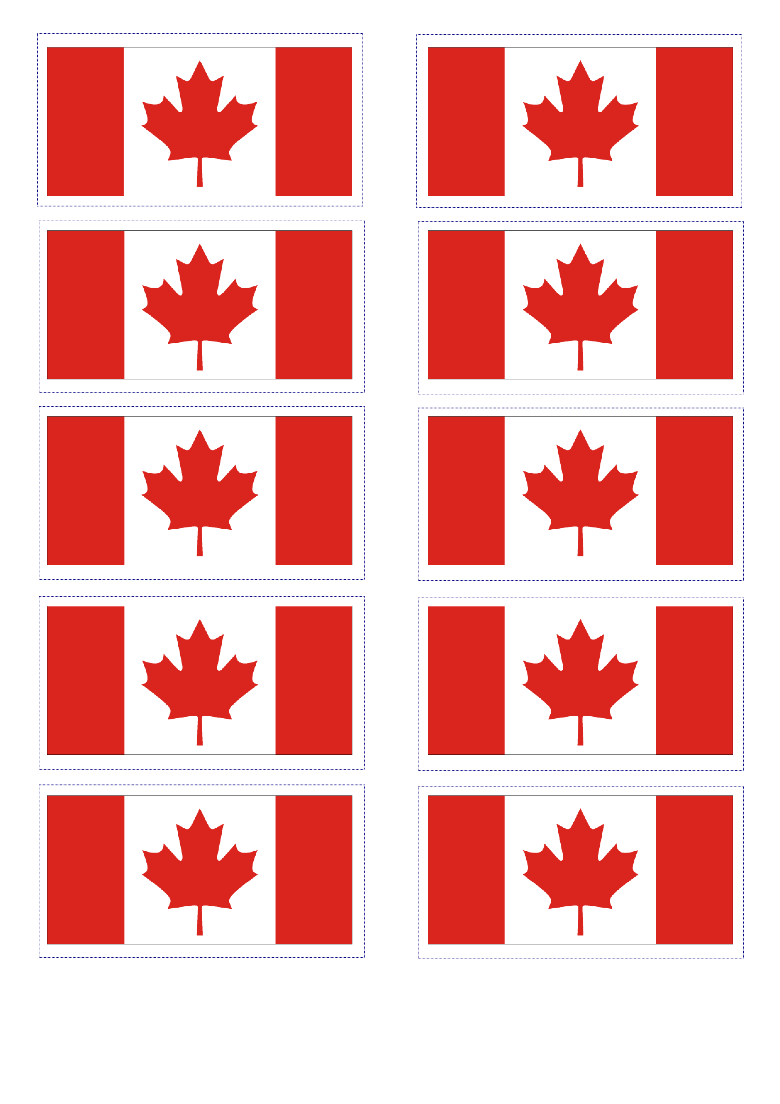 Free Canadian Flag
