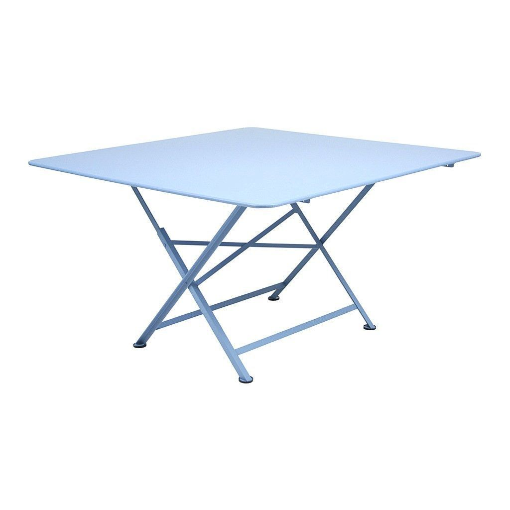 Fermob cargo 51 inch square folding table products pinterest the fermob cargo table comes in a variety of fun bright colors geotapseo Gallery