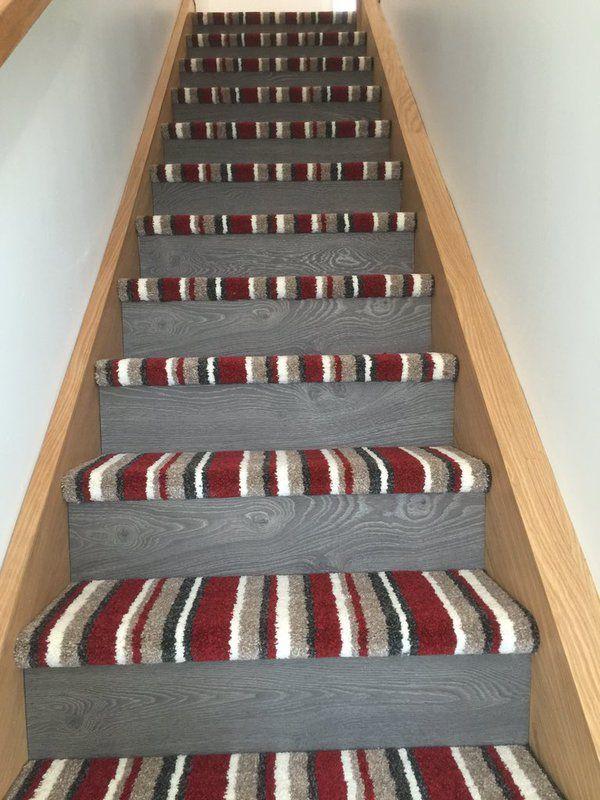 Carpet On Steps But Solid Neutral Color