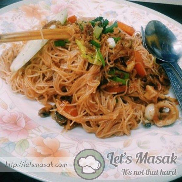Bihun Goreng Tomyam Recipe By Ciksaloma Letsmasak Com Resep Makanan Resep Masakan Resep