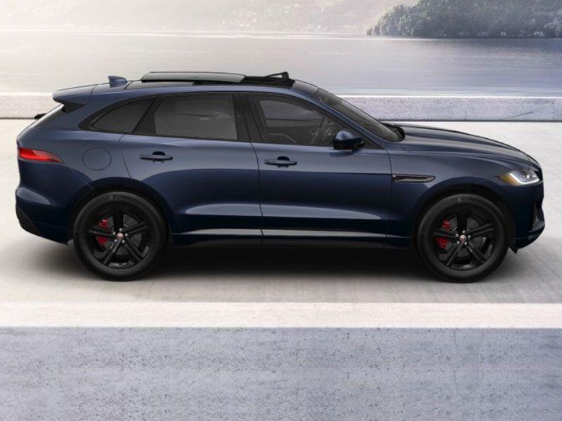 Jaquar F Pace In Dark Sapphire Blue Suv Jaguar Wheel Visualizer