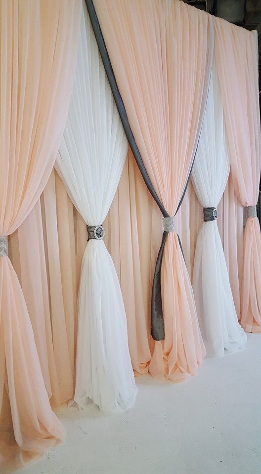 This Is Blush Sheer Is One Of The New Colors Available At Eventdecordirec Iwed Student 39 S Work