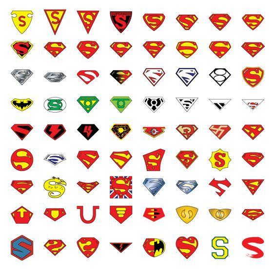 comic book symbols - Google Search | DESIGNAMATIC | Superman