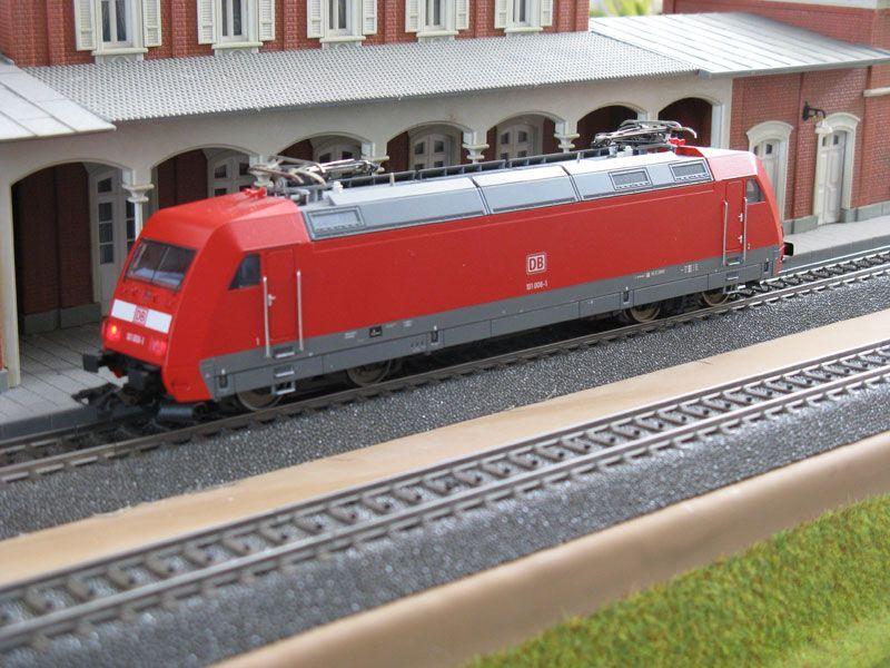 Märklin 37574 Serie 101 van de Deutsche Bahn AG. Model