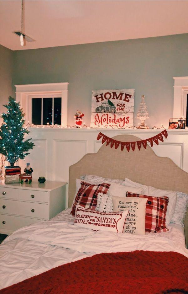 Vsco Elflatt Christmas Room Christmas Bedroom Christmas Decorations Bedroom