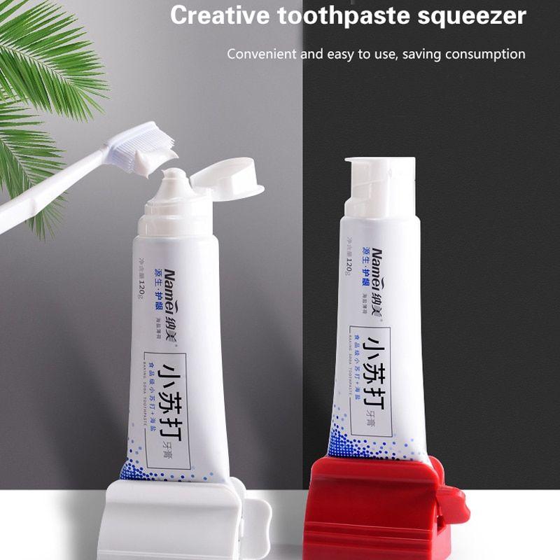 Multifunctional Toothpaste Squeezer Dispenser Bathroom Tube Holders YS