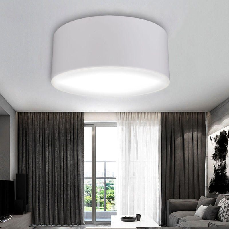 24w Round Led Dimming Ceiling Light Fixture Kitchen Bedroom Down