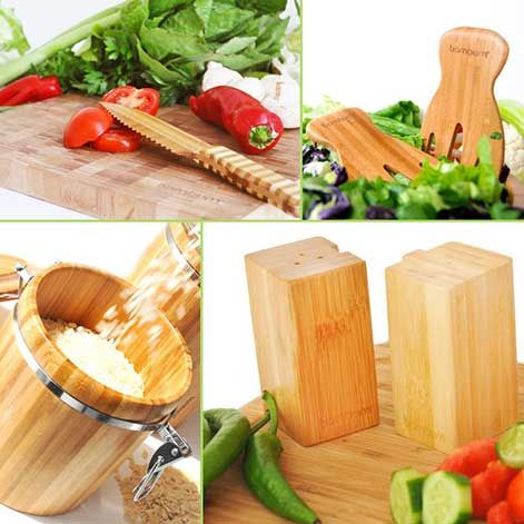 Timeless style - Natural Kitchenware from Bambum - Crafted from bamboo