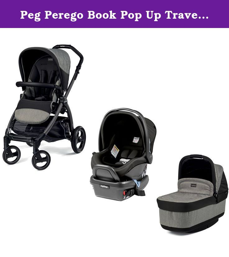 Peg Perego Book Pop Up Travel System, Atmosphere. Includes Peg ...