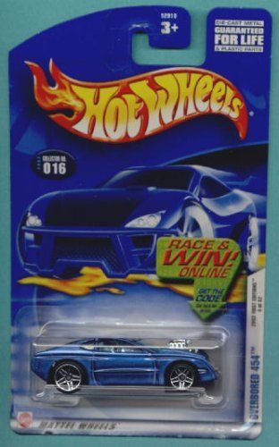 mattel hot wheels 2002 1 64 scale first editions blue overbored 454 rh pinterest com