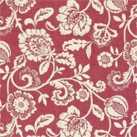 Florals Retro Prints Curtain Factory Outlet Curtain Fabric