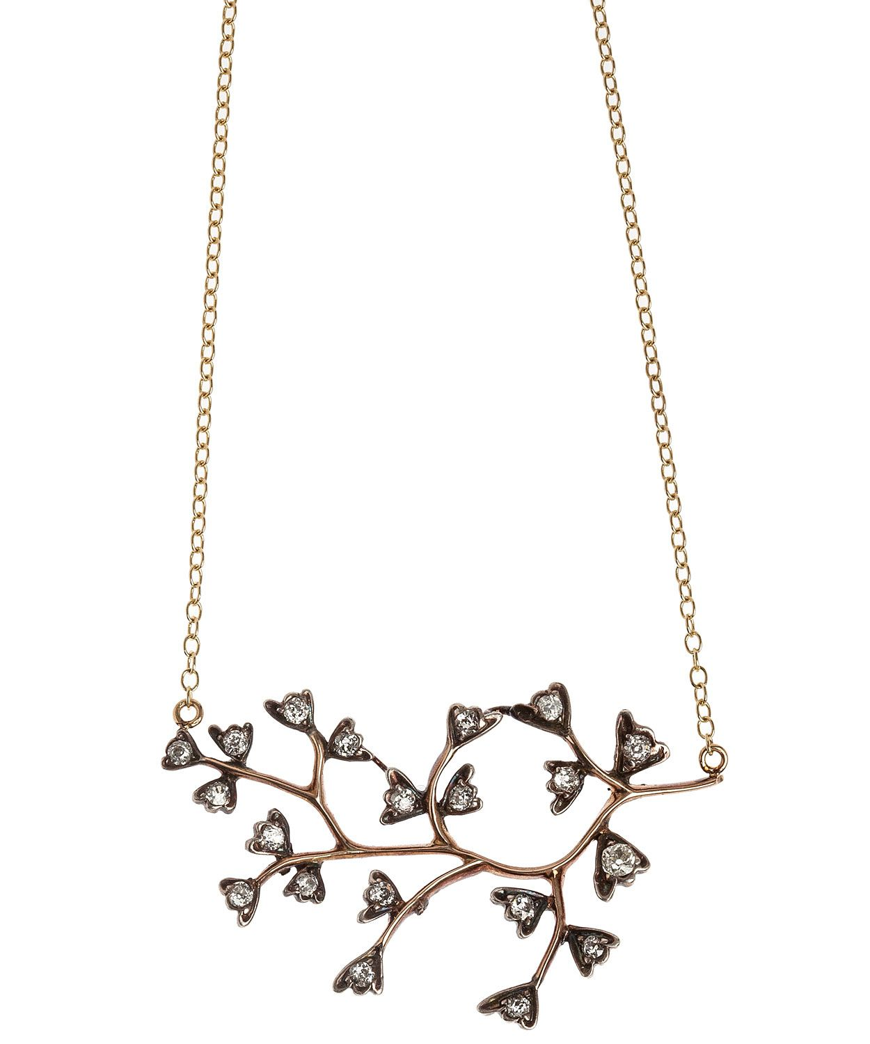 Diamond Branch Necklace | Annina Vogel, Liberty.co.uk