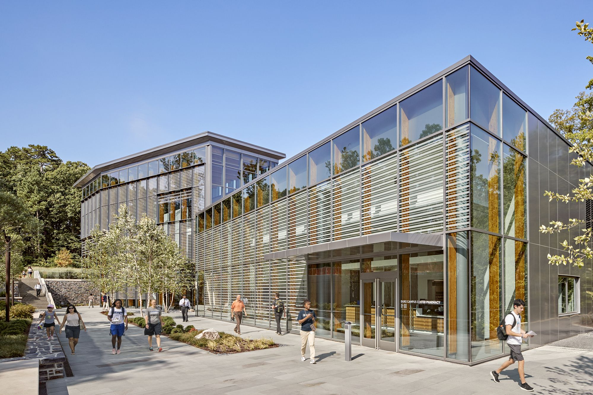 Duke Student Wellness Center Duda Paine Architects Wellness Center Architecture Architect
