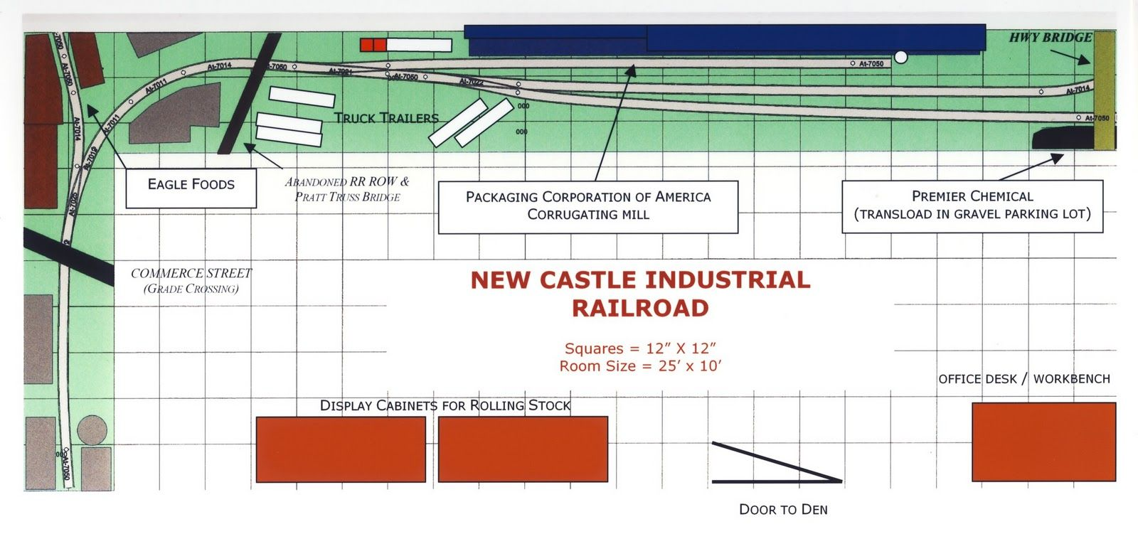 New Castle Industrial RR in O Scale This plan is very simple yet – Kato Model Train Engine Diagram