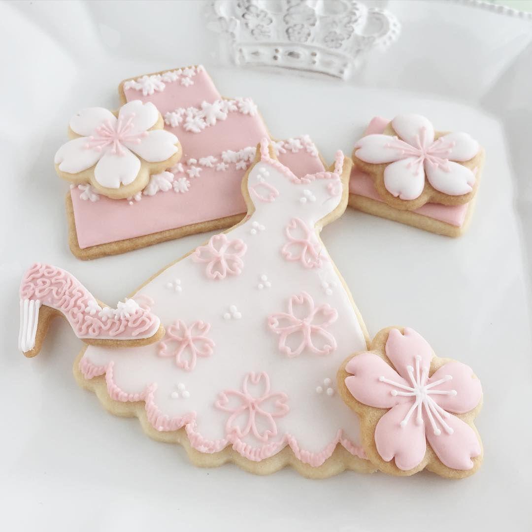 春の匂いを感じたので作ってみました #icingcookies #decoratedcookies ...