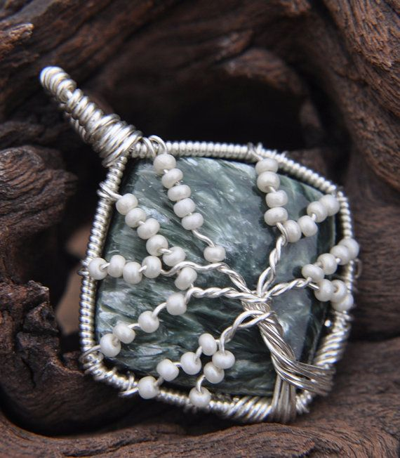 Tree of Life  Pendant by poisonivydesigns on Etsy, $95.00