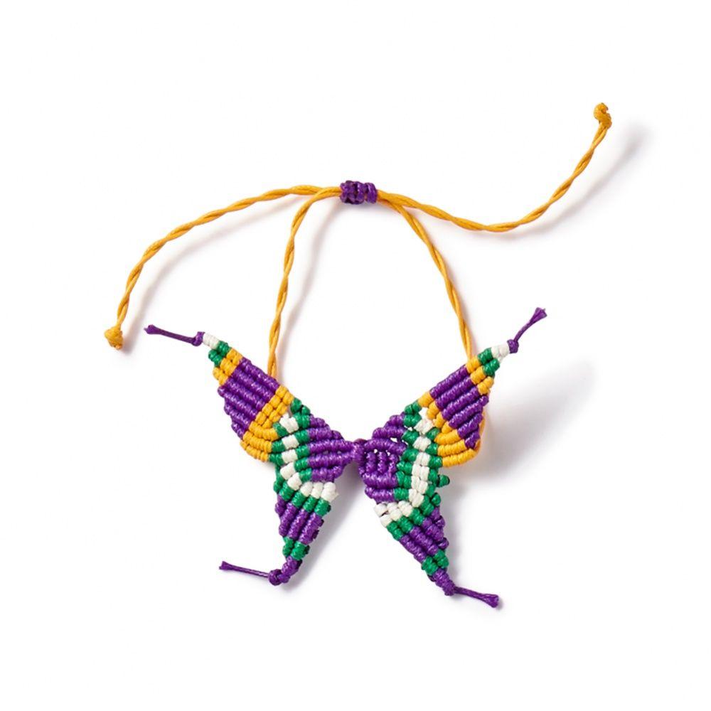 Peppercorn Kids Big Girls Butterfly Bracelet//Anklet