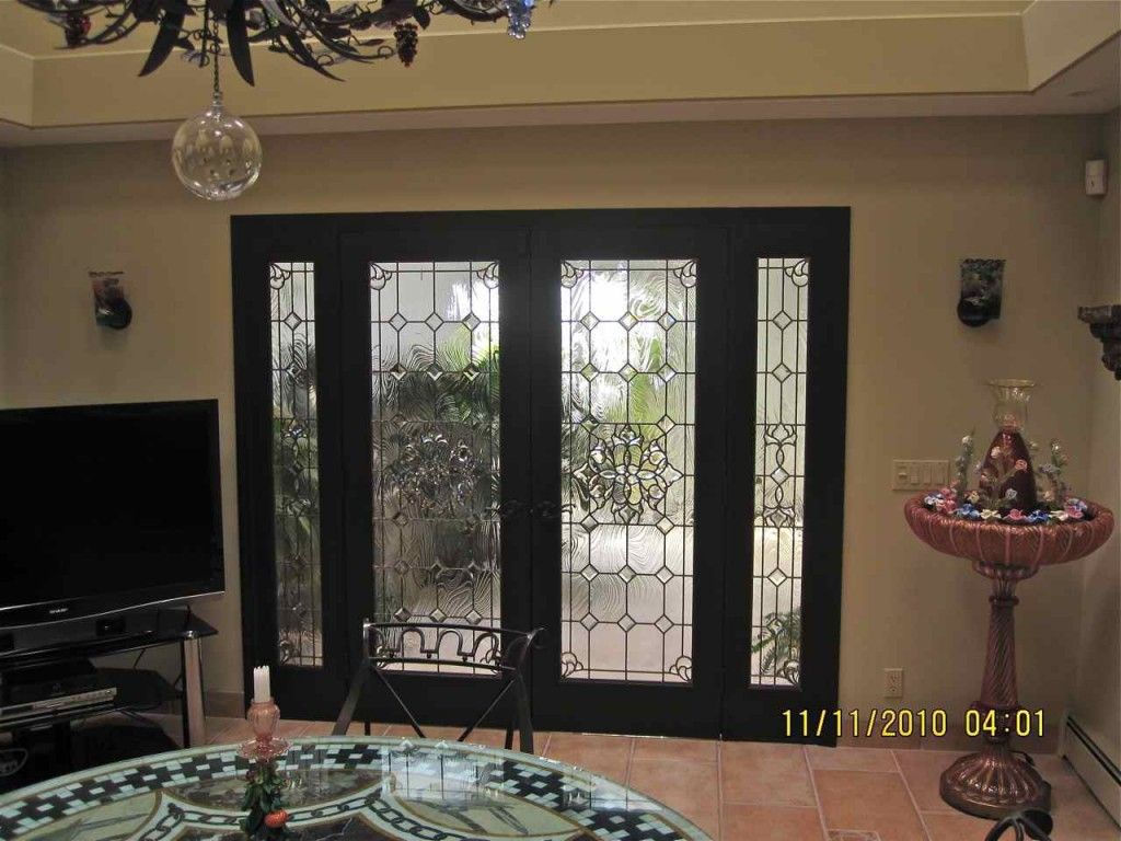 Beveled Leaded Glass Doors Windows Entry 2 House Projects To Try